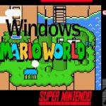 Windows Mario World