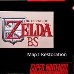 BS Zelda: Map 1 Restoration