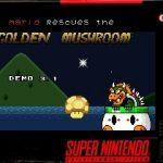 Mario Rescues the Golden Mushroom snes rom hack