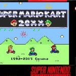 Super Mario Kart 20XX SNES Rom Hack