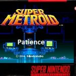 Super Metroid Patience